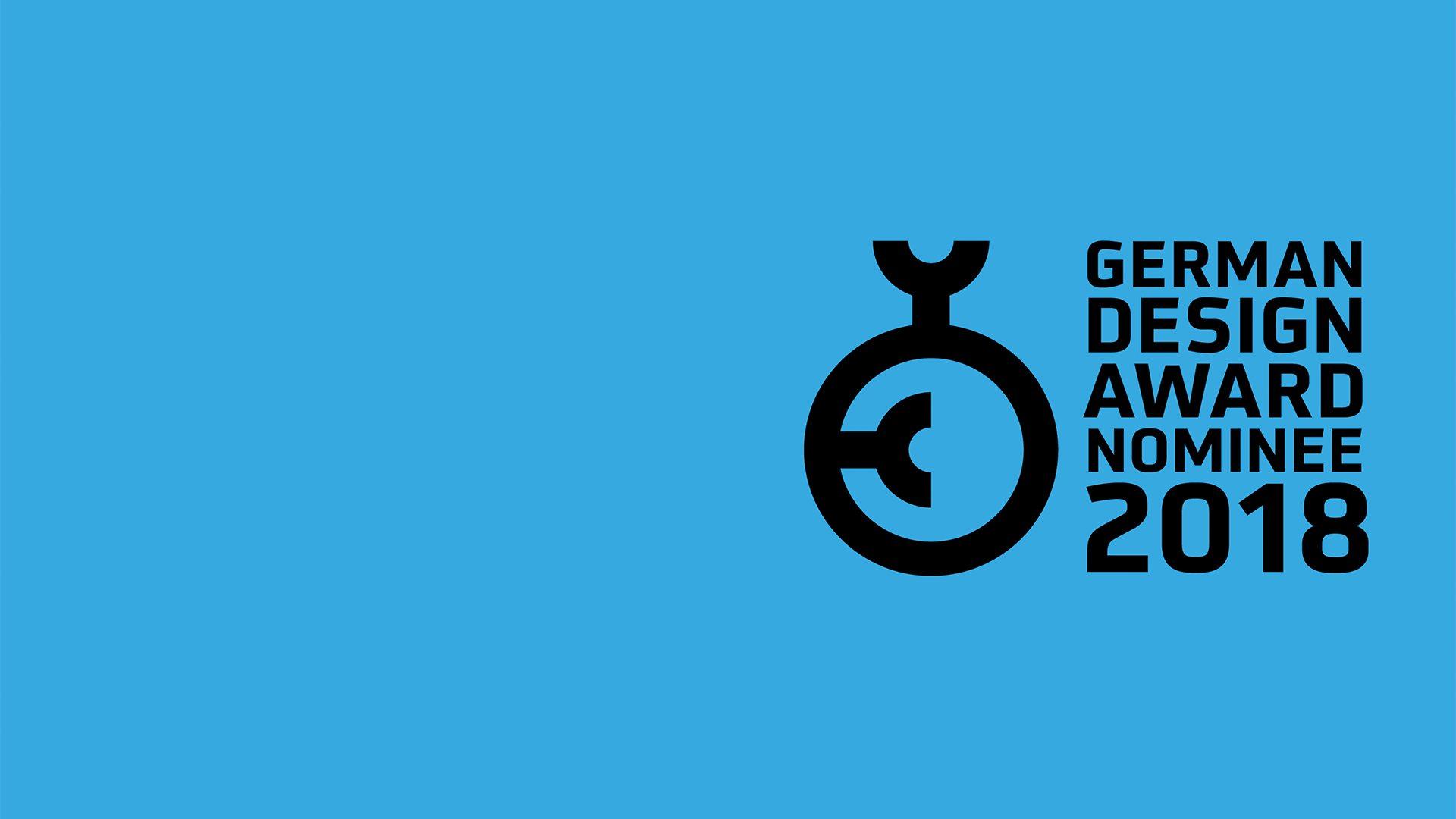 Nominiert für den German Design Award 2018 Schindler Parent