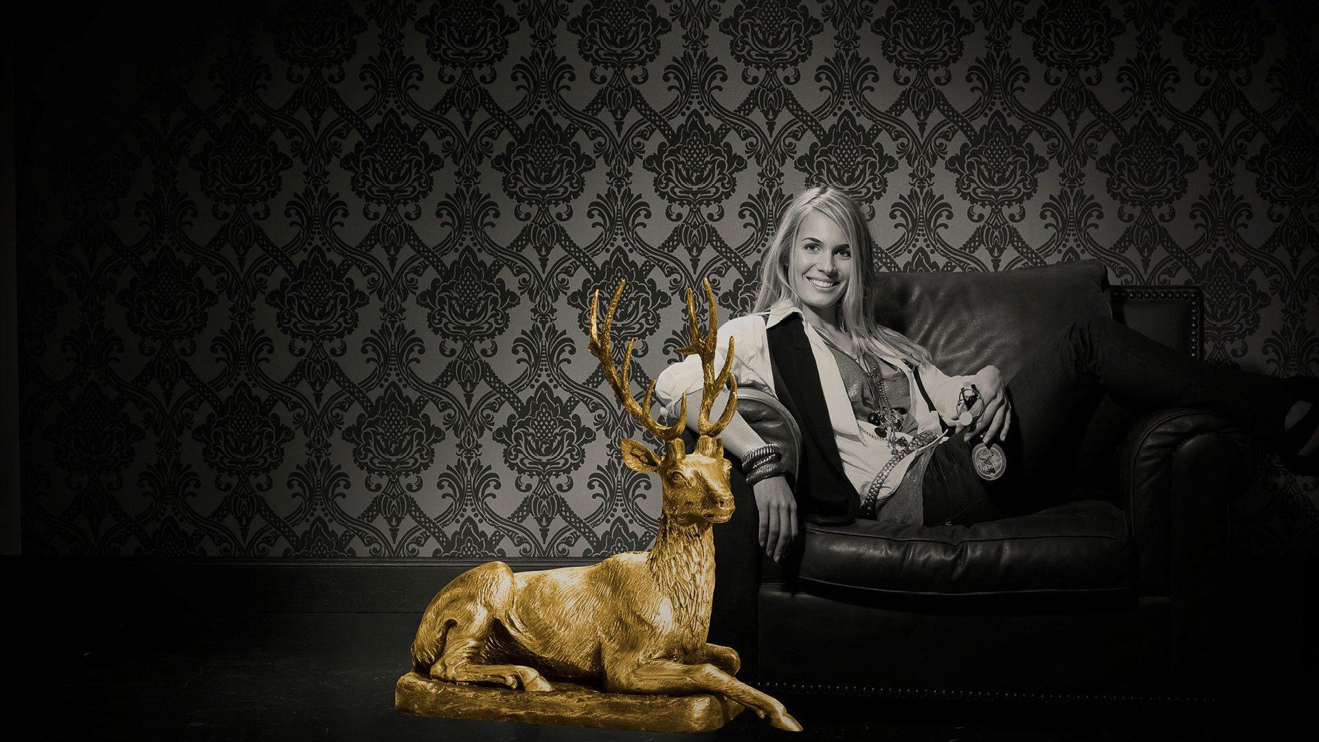 Die Hirsch Goldstoff Einführungskampagne- Schindler Parent